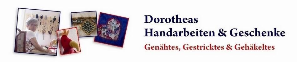 Dorotheas-Handarbeiten