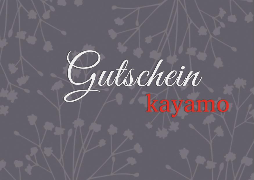 Gutschein-kayamo-front