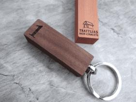 Schlüsselanhänger Hotelname