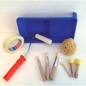Zubehör-für-Schablonenarbeiten-pinsel-malerkrepp-stupfpinsel