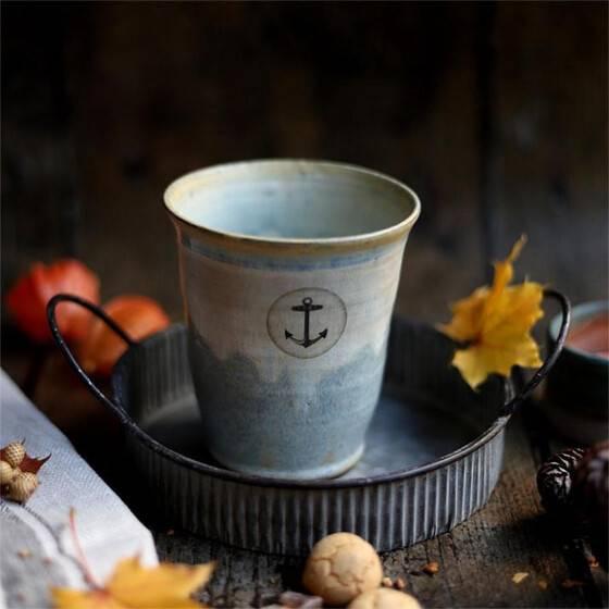 keramikbecher-maritim-anker-beige-blau