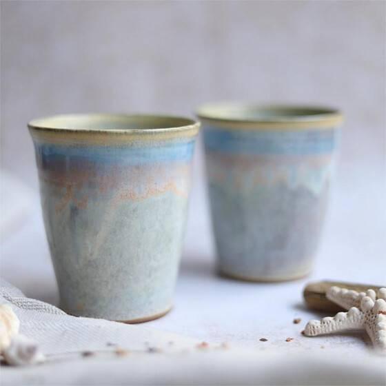 keramikbecher-set-maritim-beige-blau-rosa