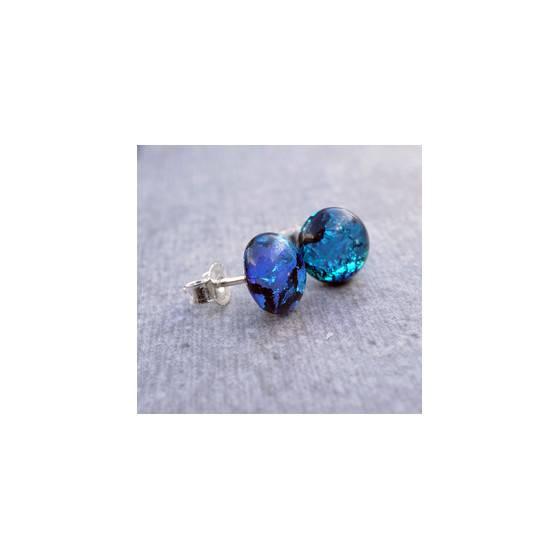 925er-silber-ohrstecker-aus-kobalt-blauen-dichroitische-glas-meerjungfrau-ohrringe