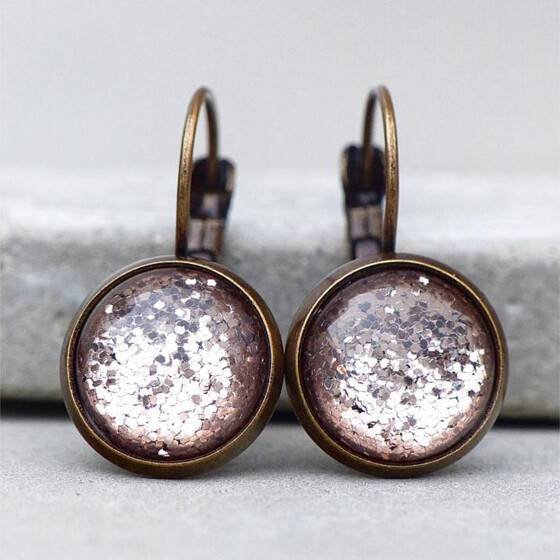 ohrringe-glamour-funkelnd-leuchtend-glitter-bronze