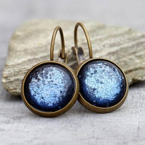 ohrringe-schimmernd-denim-blue-blau-polaris-cabochon-bronze-2