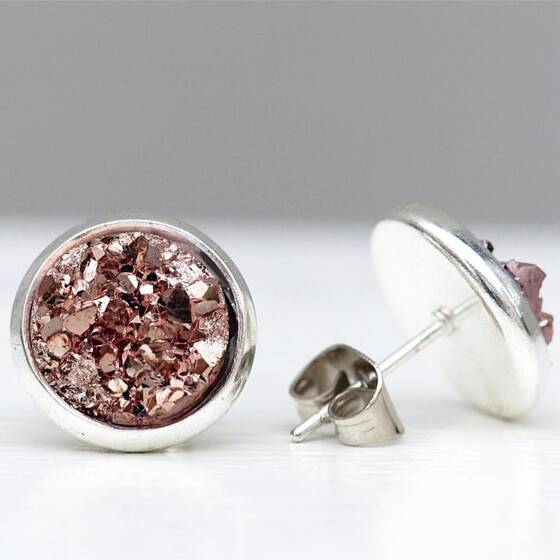 silber-ohrstecker-druzy-rose-vaux-druzy-rosa-3