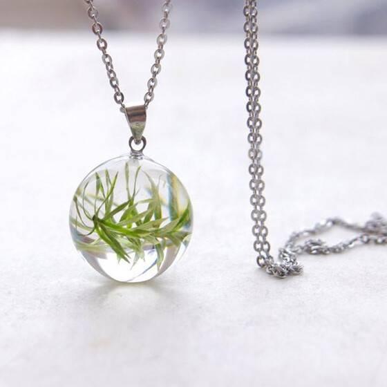 kette-echte-pflanze-18mm-naturschmuck-geschenk-naturliebhaber