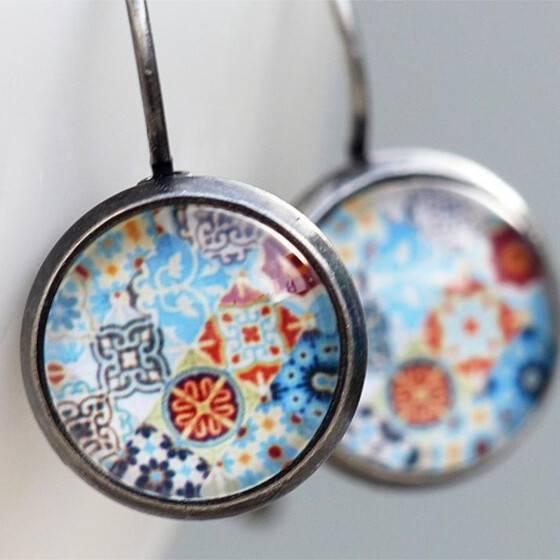 ohrringe-azulejos-antiksilber-ohrhaenger-portugiesische-fliese
