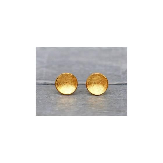 circel-24karat-vergoldete-ohrstecker